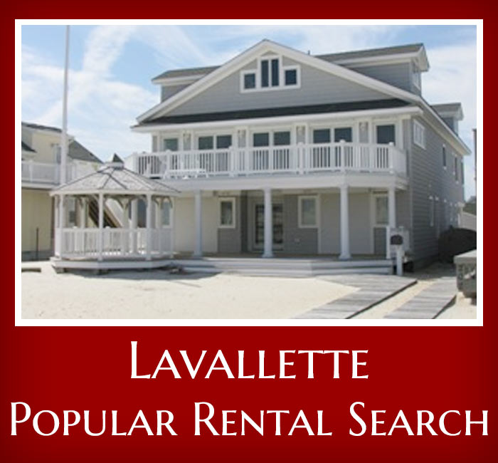 Rental Search: Lavallette Real Estate & Rentals